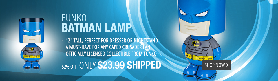 Batman Funko Character Light Up Lamp