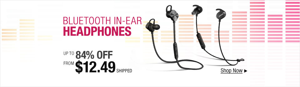 Bluetooth In-Ear Headphones