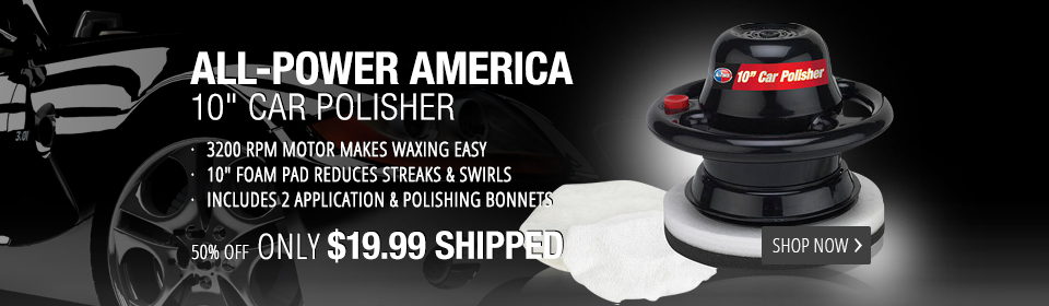 All Power America Car Polisher