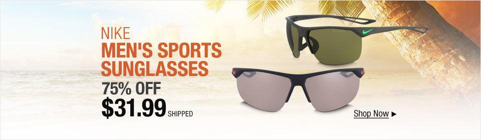 Nike Men's Sports Sunglasses