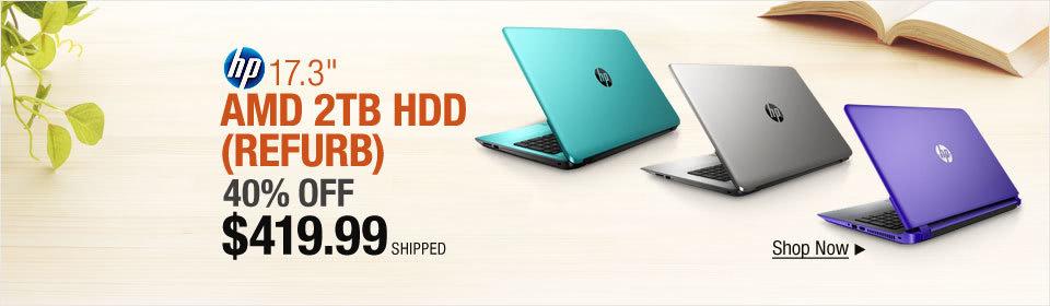 Refurb HP HDD