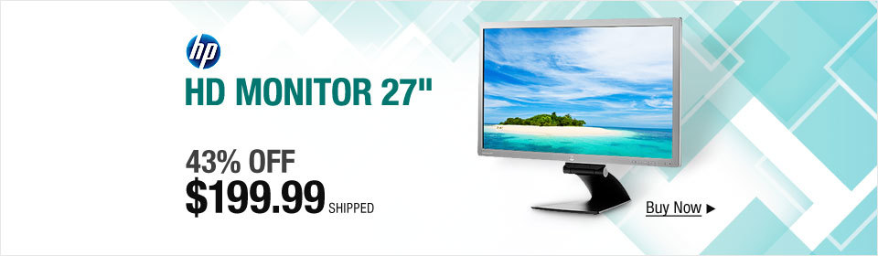 HP HD Monitor