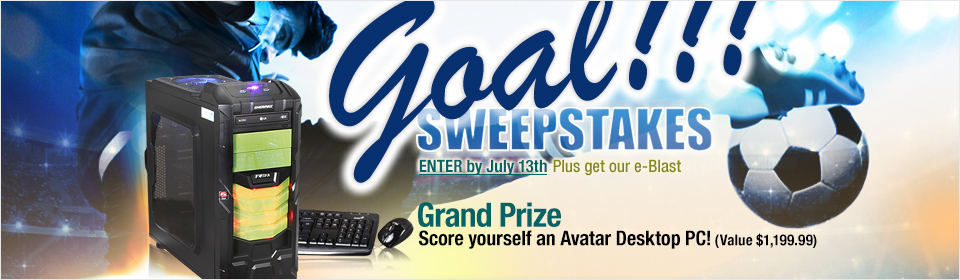 NeweggFlash Goal!!! Sweepstakes