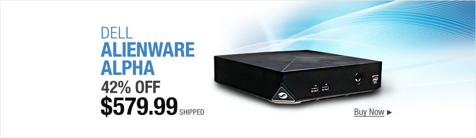 Alienware Alpha Desktop Intel Core i5-4590T Quad-Core Processor (6M Cache, up to 3.00 GHz), 8GB DDR3, ITB HDD, Windows 8.1 (Free upgrade to Win10 Home) Certified refurbished