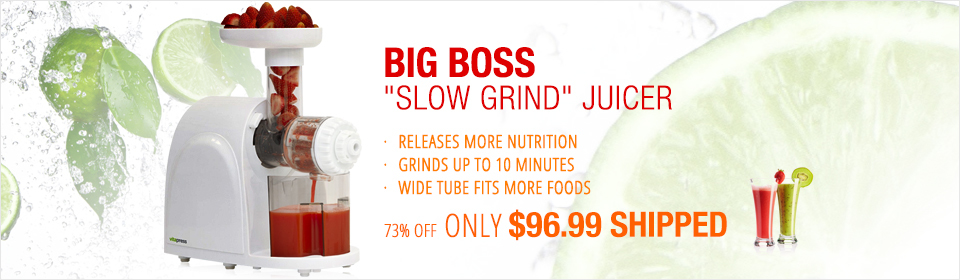 Big Boss 8820 Vitapress Juicer