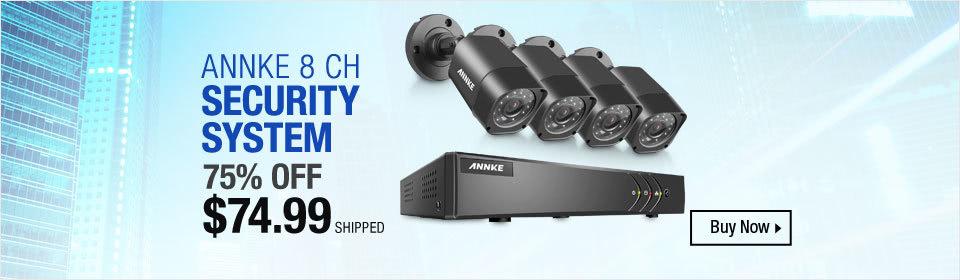 Annke 8CH Camera