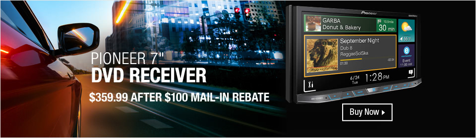Pioneer DVD Receiver