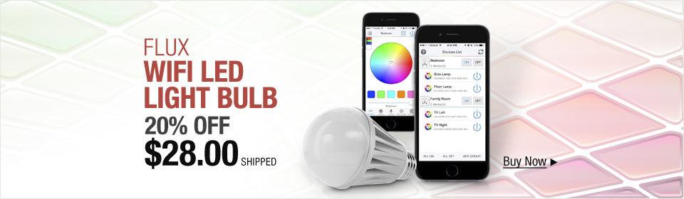 Flux WiFi LED Light Bulb