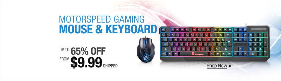 Motorspeed Gaming Mouse & Keyboard