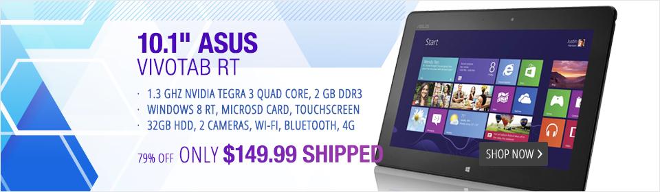 Asus RTF600TL-B1-GR VivoTab with 4G (Locked, ATT Only)GB Tablet - 32 GB - 10.1