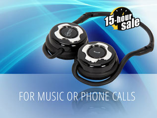 For music or phone calls