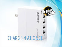 Charge 4 at once