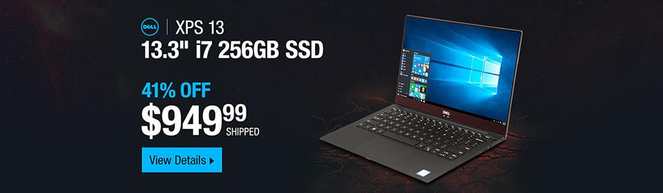 DELL Laptop XPS XPS9370-7002SLV