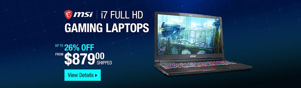 MSI Gaming Laptop Campaign #20943
