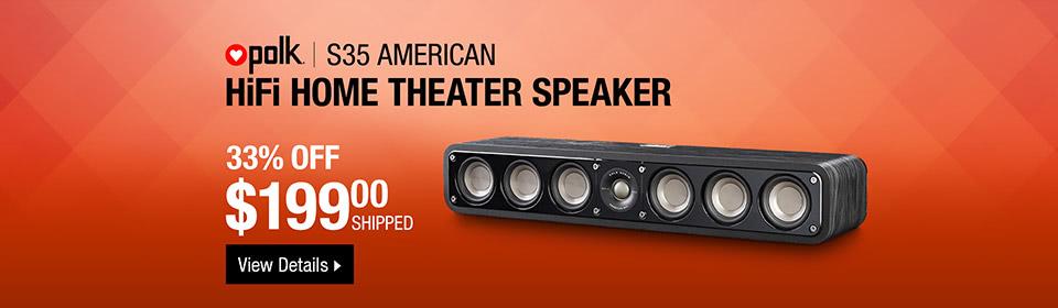 Polk Theater Speaker