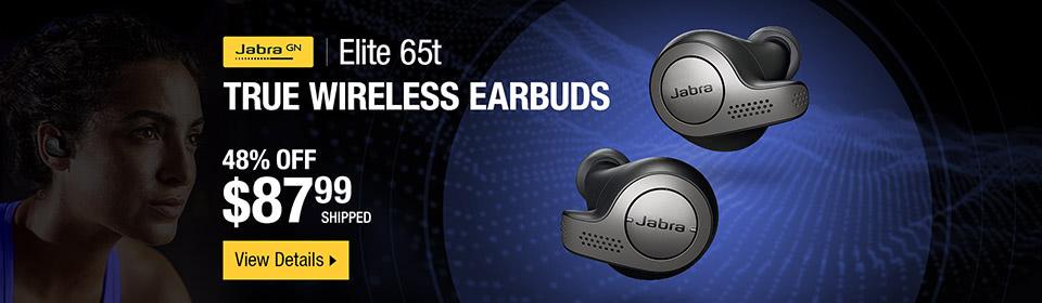 Jabra Elite 65t True Wireless Earbuds