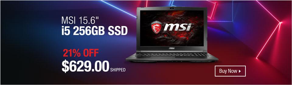 """MSI 15.6"""""""