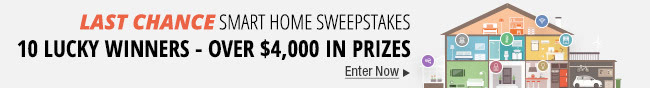 NeweggFlash Smart Home Sweepstakes