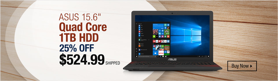 Asus Quad Core Laptop
