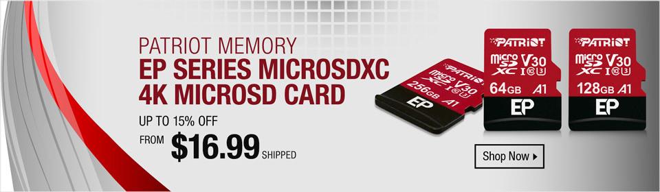 Patriot Memory Card