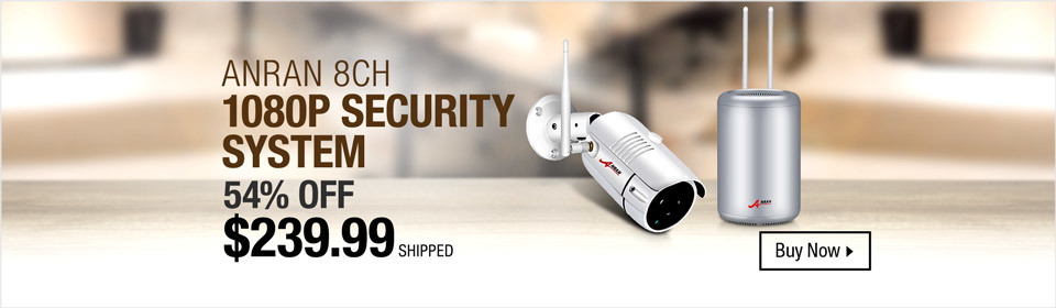 Anran 8 CH Security System