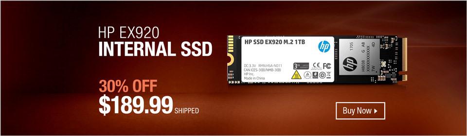 HP SSD