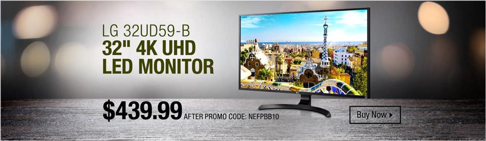 LG 32UD59-B Monitor