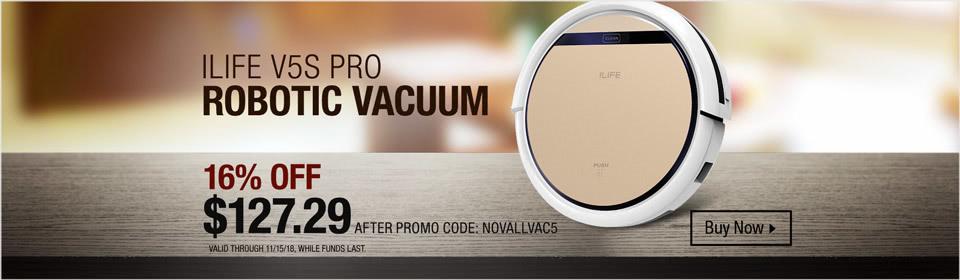 ILIFE V5S Pro Vacuum