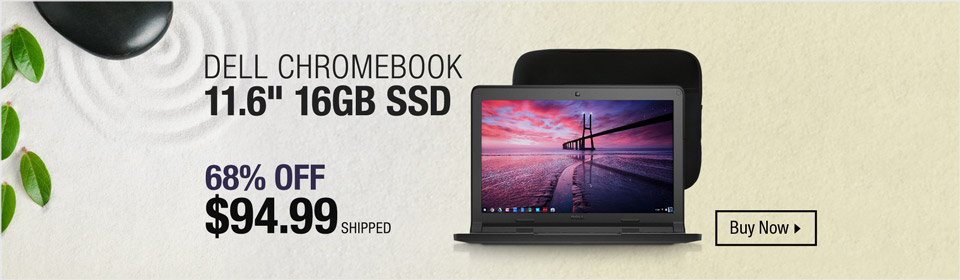 """Dell Chromebook 11.6"""""""
