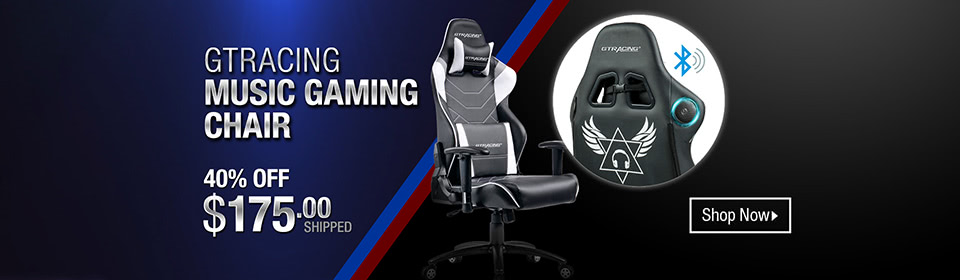 GTRACING Music Gaming Chair Campaign
