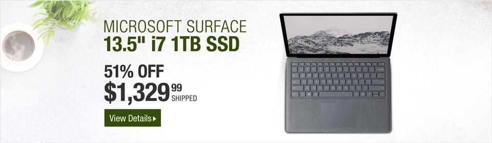 "Microsoft Surface 13.5"""