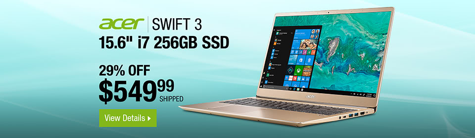 Acer Laptop Swift 3