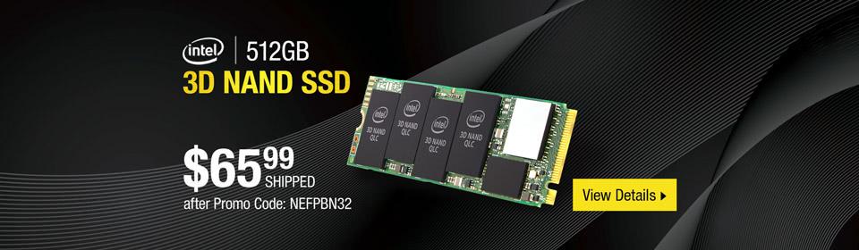 Intel 660p Series 512GB