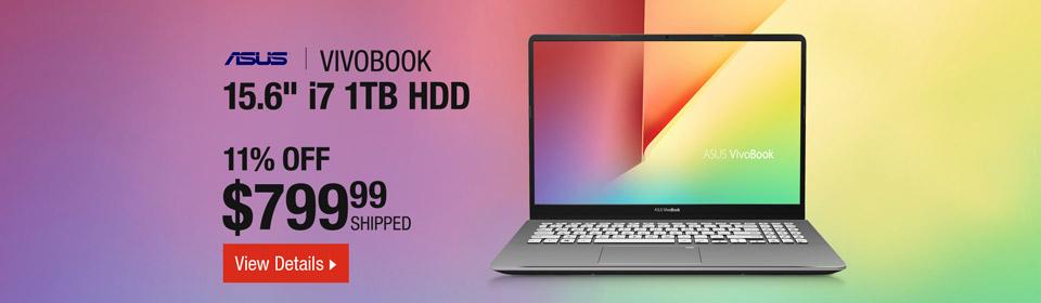 ASUS VivoBook Slim and Portable Laptop