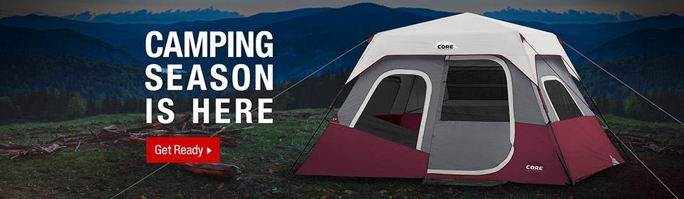 Camping Essentials Campaign