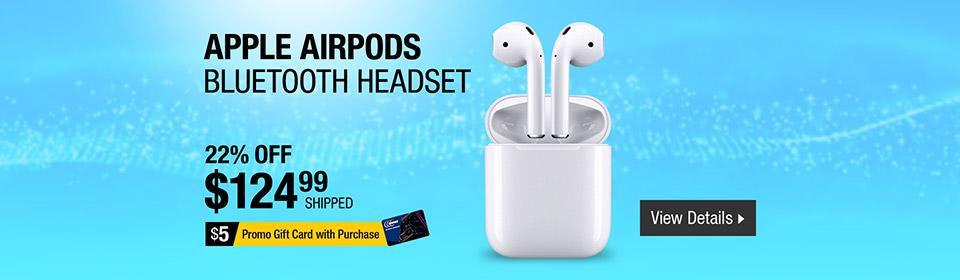 Apple Airpods Wireless Bluetooth Headset