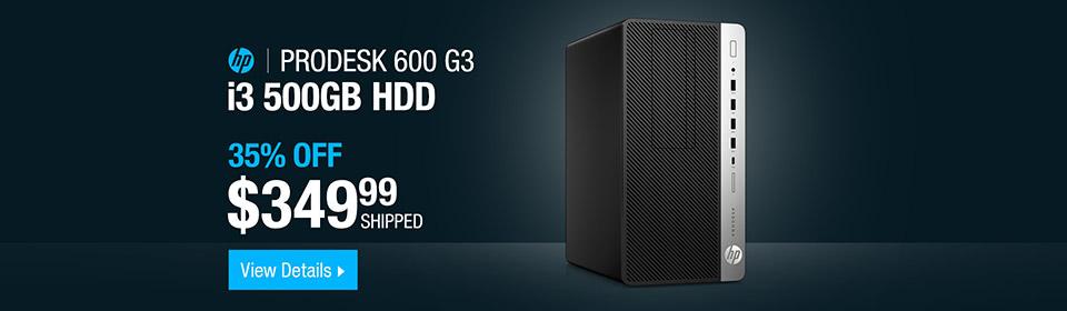 HP ProDesk 600 G3 Desktop