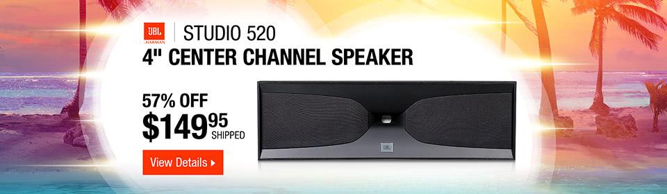 "JBL Studio 520 Dual 4"" Center Channel Speaker"