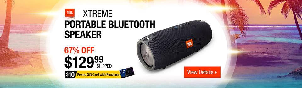 JBL Xtreme Waterproof Portable Bluetooth Speaker
