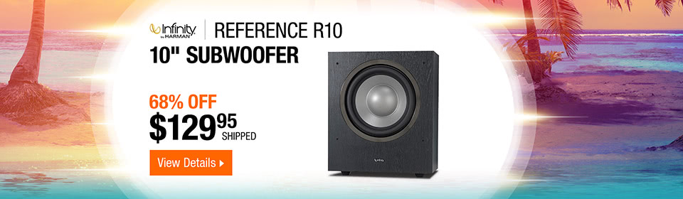 "Infinity Reference SUB R10 10"" Powered Subwoofer"