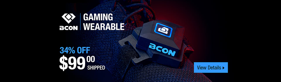 Bcon Gaming Wearable