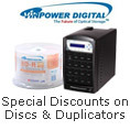 Exclusive Savings on Select VinPower Dics and Duplicators