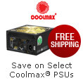 Free shipping on select Coolmax PSUs