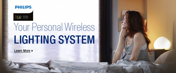 Your Personal Wireless Lighting System