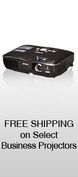 Free Shipping on select Business Projectors
