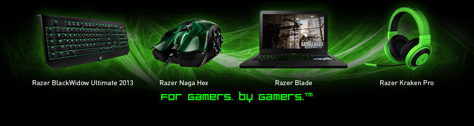 For Gamers. By Gamers.