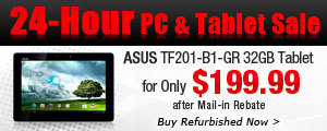 24-Hour PC & Tablet Sale