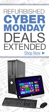 Refurbished Cyber Monday Deals