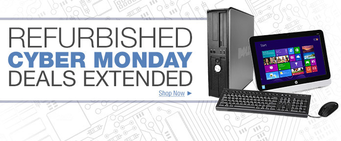Refurbished Cyber Monday Deals Extended
