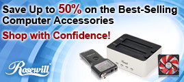 Save Up to 50% on the Best-Selling Computer Accessories